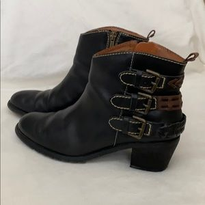 Pikolinos leather booties. Size 38.